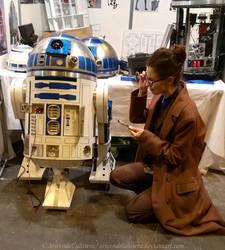 Ten meets R2-D2 by ArwendeLuhtiene