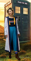 13th Doctor cosplay S11 - She's coming, she's here