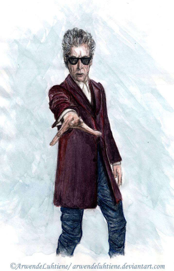 Doctor Who - Twelfth Doctor (colour) by ArwendeLuhtiene