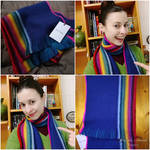 13th Doctor cosplay S11 - The rainbow scarf