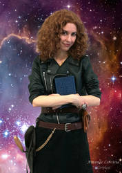 River Song cosplay - Next Stop, Everywhere by ArwendeLuhtiene
