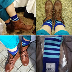 13th Doctor cosplay - Socks by ArwendeLuhtiene
