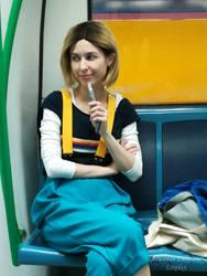 13th Doctor cosplay - On the Underground I by ArwendeLuhtiene