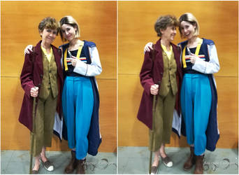Team Culottes at HeroesComicCon :D by ArwendeLuhtiene