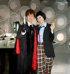 Doctor Who - Second and Third Doctors - test II by ArwendeLuhtiene