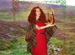 Goddess Brighid cosplay VI by ArwendeLuhtiene