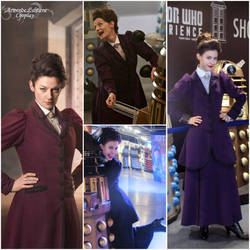 DW- Missy S9 - cosplay vs character