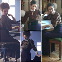 DW - Vault Missy - cosplay vs character