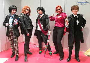 Doctor Who meets Good Omens at Japan Weekend 2019