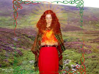 Goddess Brighid cosplay VII