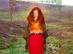 Goddess Brighid cosplay VII by ArwendeLuhtiene