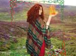 Goddess Brighid cosplay VIII by ArwendeLuhtiene