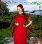 Celtic Sword-woman 1 by ArwendeLuhtiene