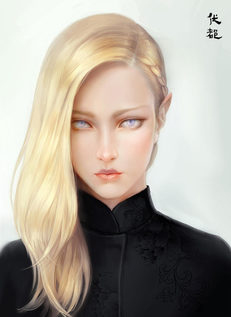 a blond portrait by BV-47