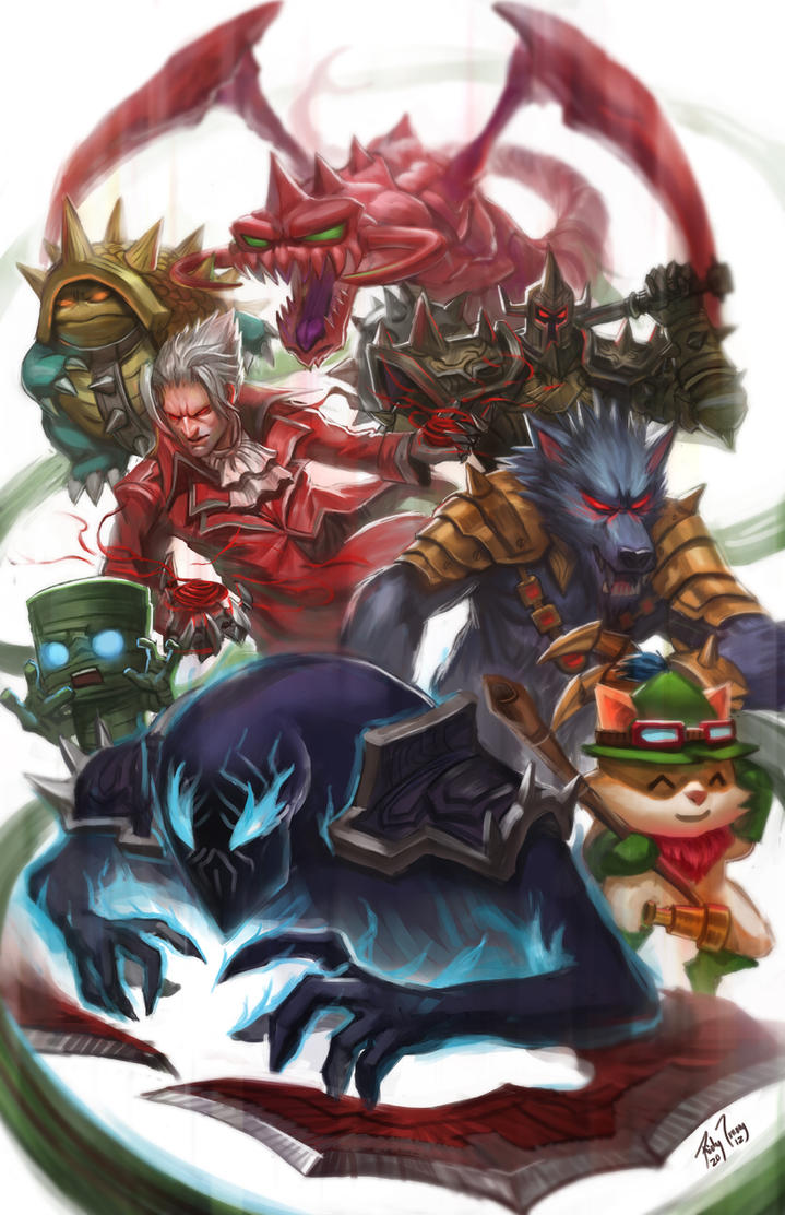 League of Legends by r-trigger