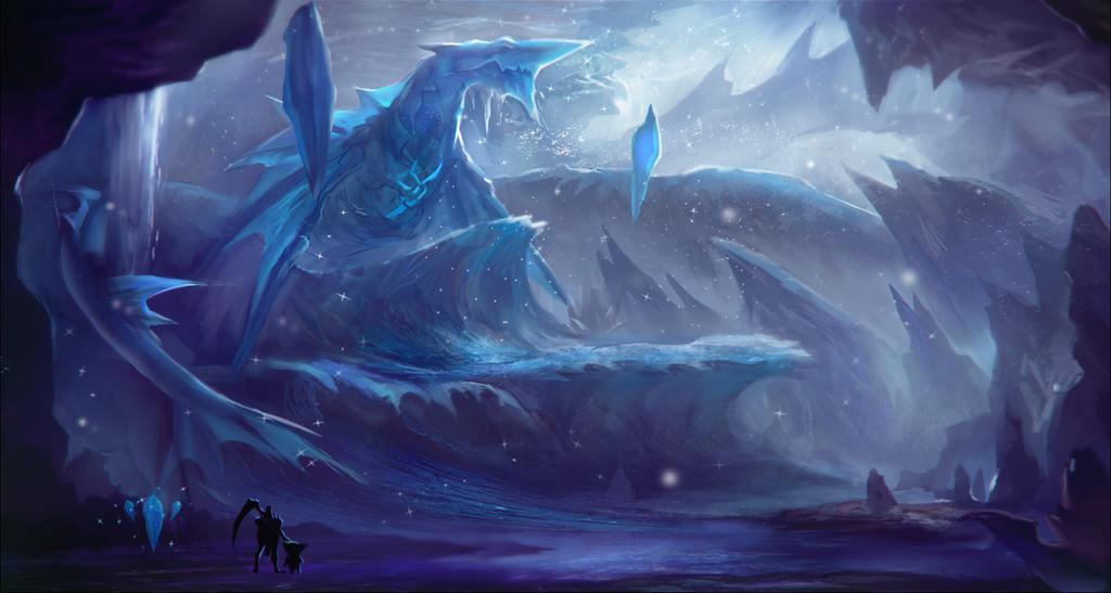Crystal caves by r trigger on deviantart for Paintings of crystals