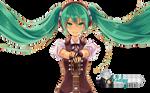 Hatsune Miku RENDER HD