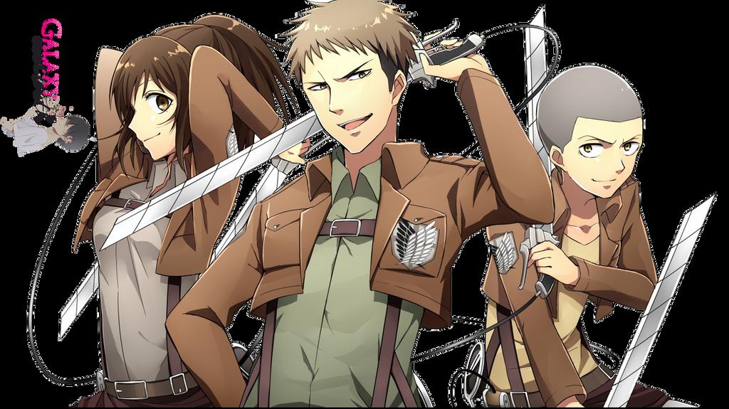Renders L'attaque des Titans Render_trio_shingeki_no_kyojin_render_hd_by_a_galaxysweth-d6lf0rc
