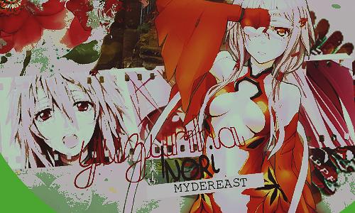 MY DEREAST YUZURIHA INORI by a-Galaxysweth