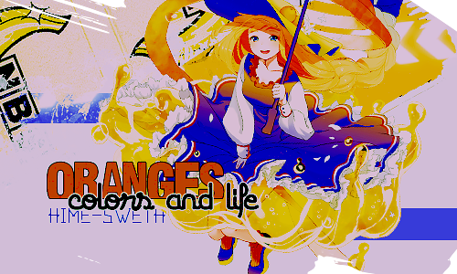 Orange-s signature #52 by a-Galaxysweth