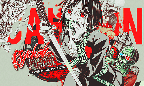 Psychotic ZOMBIE version Anri by a-Galaxysweth