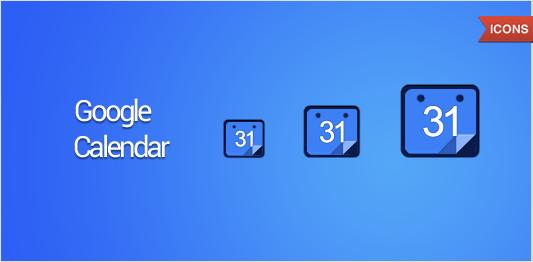 Google Calendar Art : Google calendar icon by draganja on deviantart