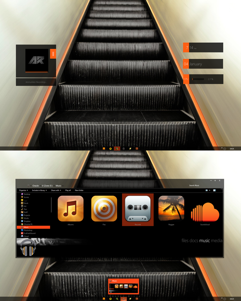 Orange Escalade by Draganja