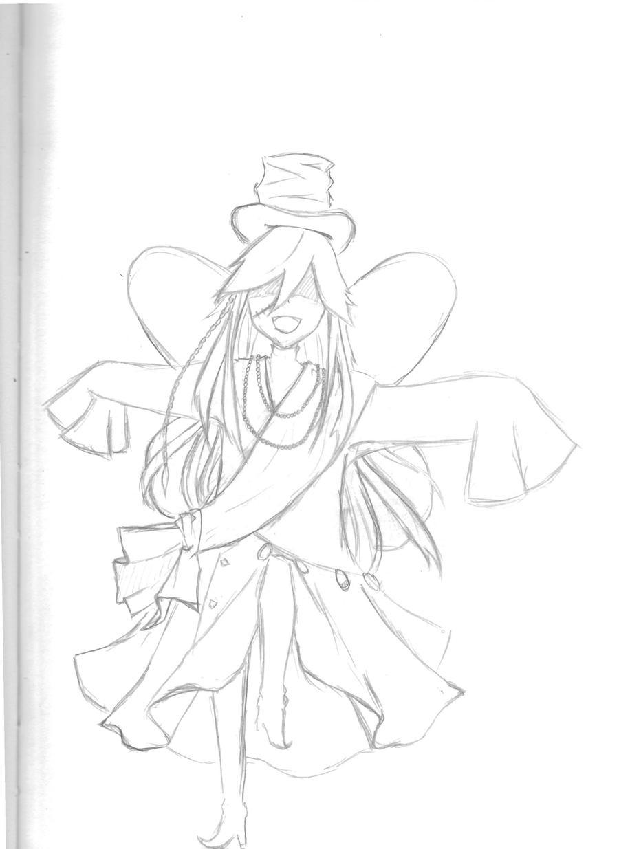 Undertaker black butler coloring coloring pages for Undertaker coloring pages