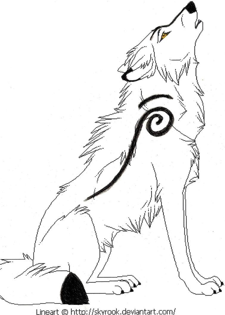 Arctic wolf clipart the image kid has it for Animal jam arctic wolf coloring pages
