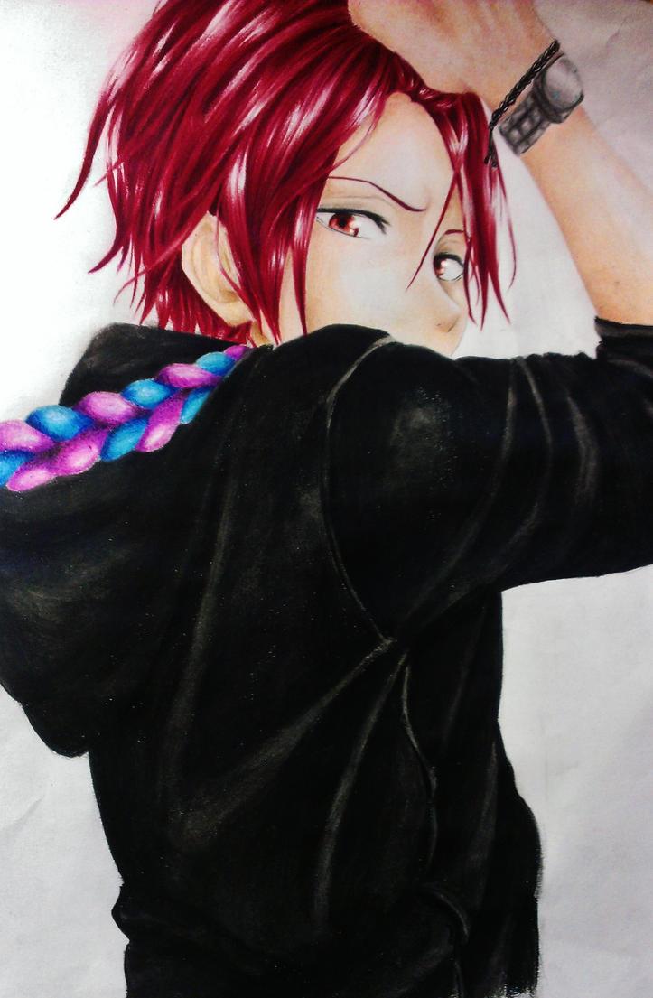 Rin Matsuoka 24/10/14 by lolDerCaptain