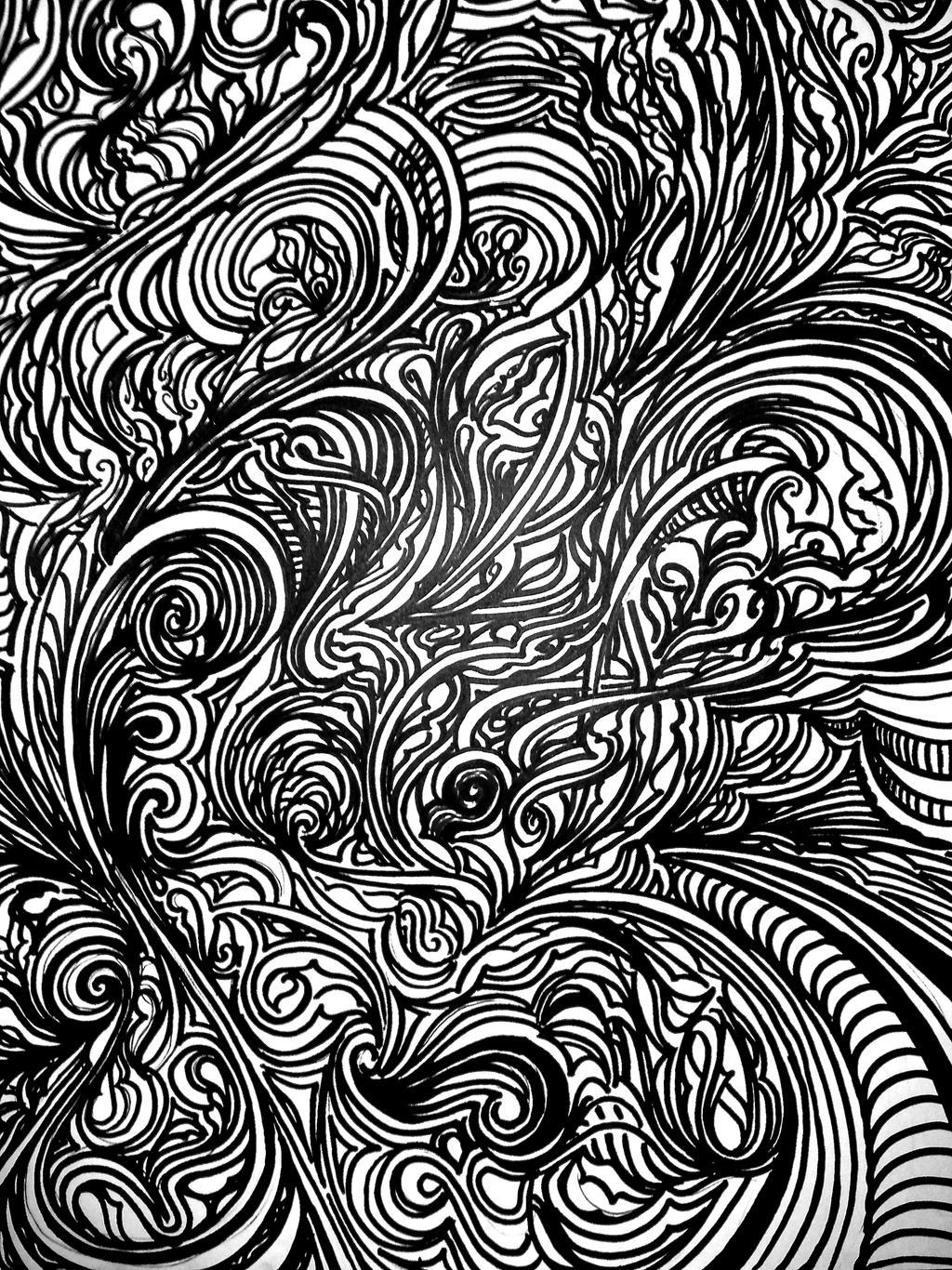 Sprawling Psychedelia by Odyssey8
