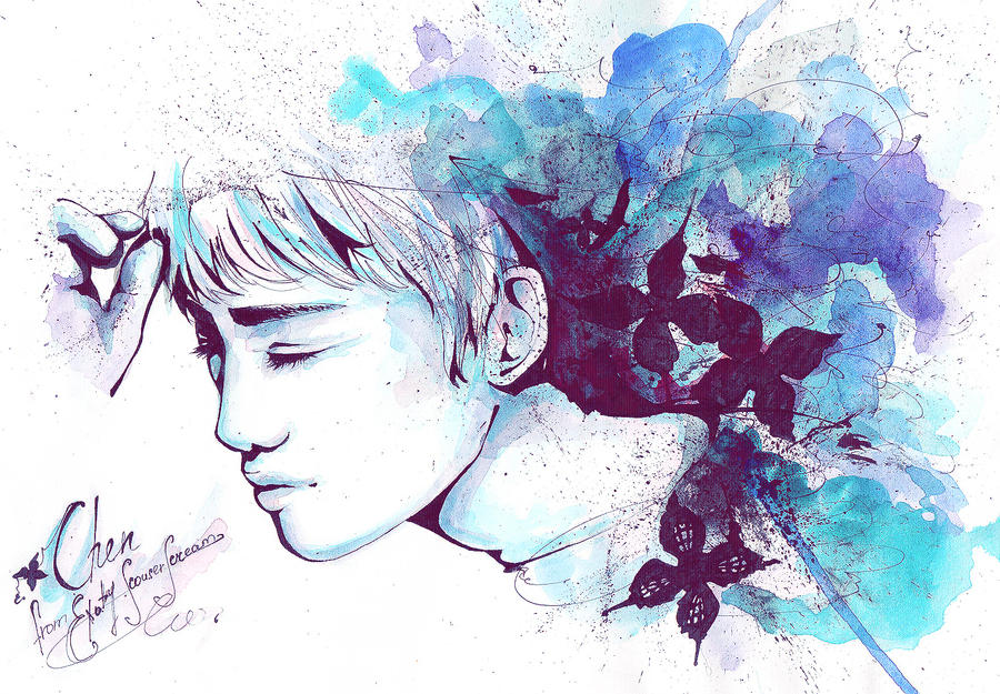 Chen EXO-M by ScouserScream