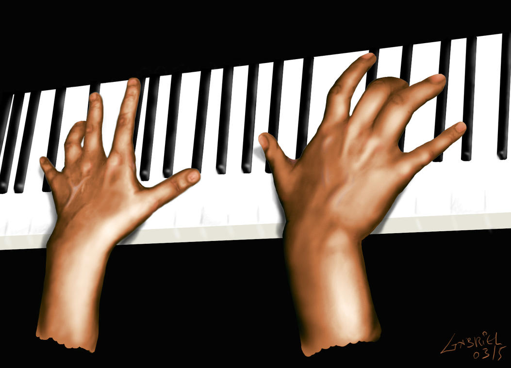 Hands on the Piano - update by maozao on DeviantArt
