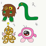 4 Favorite Creatures by TheSympatheticOne