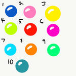 Orbs in Assorted Colors by TheSympatheticOne