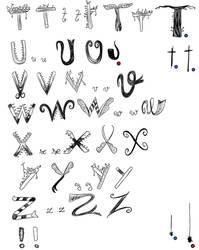 Rule of Rose font - 2/3