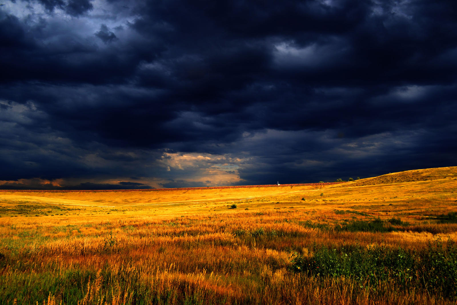 Dancing Above the Prairie by Delta406