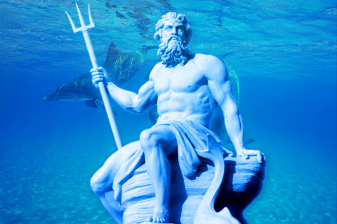 Poseidon God Of The Sea Picture Poseidon God Of The Sea Image