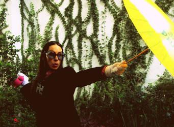 Divina Huntress by MishimaHaiku