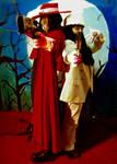 Alucard and Himself by AkumaHarmony