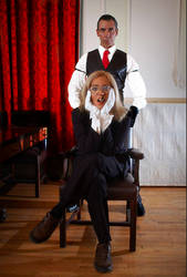 Loyal Butler and Caprician Sir