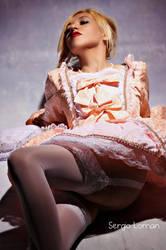 Lady Gaga Pompadour by MishimaHaiku