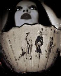 Murasaki Shikibu Litography