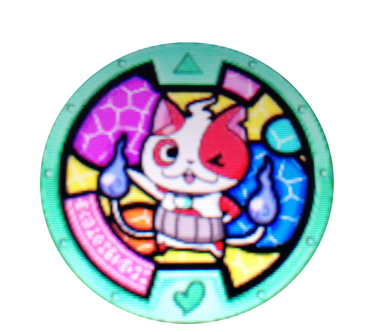 Yo kai watch 2 buchinyan medal by bigmariofan99 on deviantart for Decoration yo kai watch