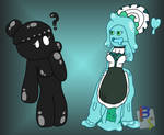 Inky and Messibelle