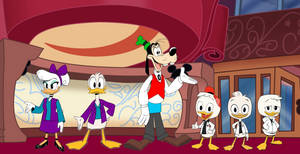 House of Mouse Reboot Staff (Ducktales 2017)