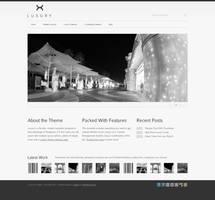 Luxury Wordpress Template by lickmystyle