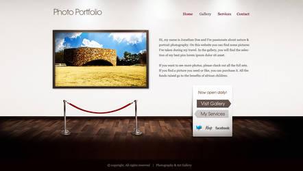 Art Gallery - Website by lickmystyle