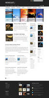 Magazine and Blog Template