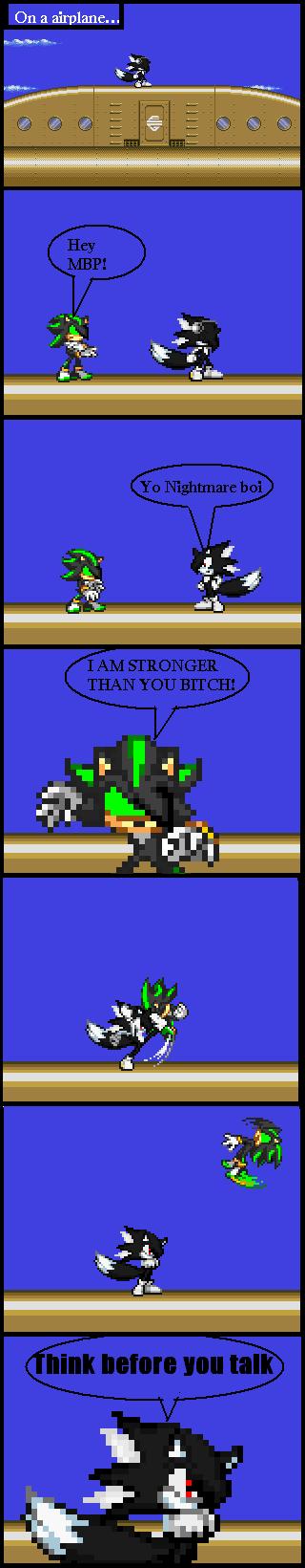 Nightmare gets it by NinjaZetro